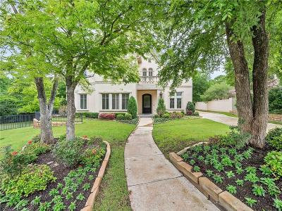 Fort Worth Single Family Home For Sale: 1501 Rivercrest Court