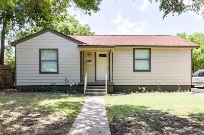 Dallas TX Single Family Home For Sale: $190,000