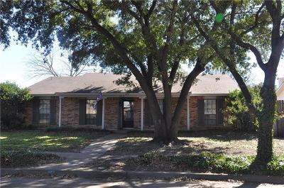The Colony Single Family Home Active Contingent: 5016 Brandenburg Lane
