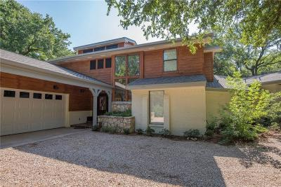 Single Family Home For Sale: 4017 Inwood Road