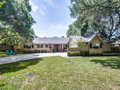 Fort Worth Single Family Home For Sale: 4316 Clayton Road W