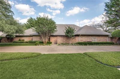 Dallas Single Family Home For Sale: 16910 Club Hill Drive
