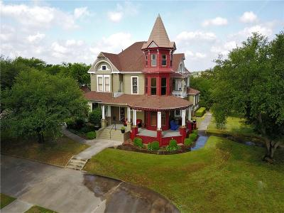 Weatherford Single Family Home For Sale: 1105 Palo Pinto Street