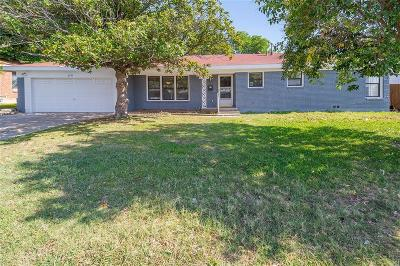 North Richland Hills Single Family Home For Sale: 6757 Manor Way