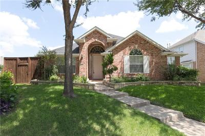 Allen Single Family Home Active Contingent: 517 Duke Court