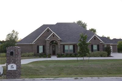 Burleson Single Family Home For Sale: 208 Stone Rose Court