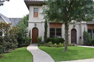 Tarrant County Townhouse For Sale: 3633 Crestline Road