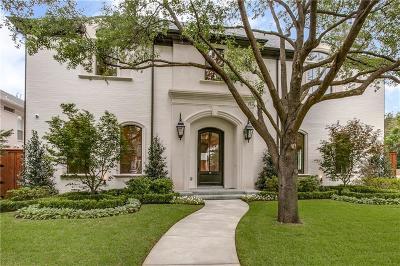 Dallas, Highland Park, University Park Single Family Home For Sale: 3400 Centenary Avenue