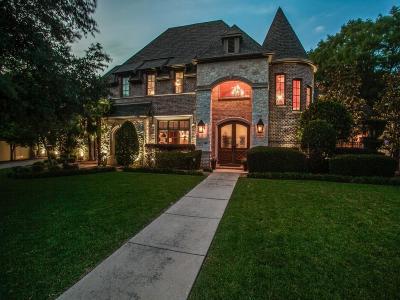 Preston Hollow Single Family Home For Sale: 5707 Watson Circle