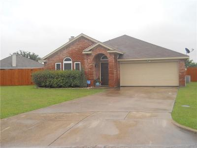 Terrell Single Family Home Active Option Contract: 106 Rockwall Court