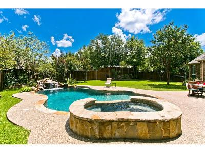 McKinney Single Family Home Active Contingent: 8020 Strathmore Drive
