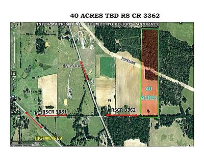 Emory Residential Lots & Land For Sale: Tbd Rs County Road 3362