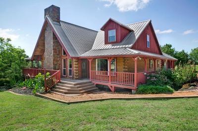 Farmersville Single Family Home For Sale: 7410b Bar D Lane