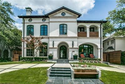 Dallas, Highland Park, University Park Single Family Home For Sale: 4524 N Versailles Avenue