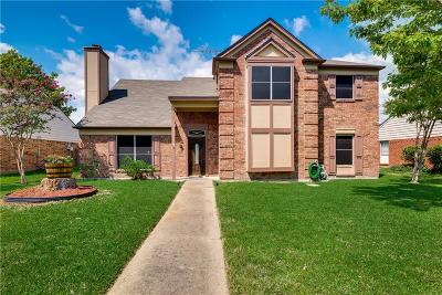 Rowlett Single Family Home Active Option Contract: 4117 Mediterranean Drive