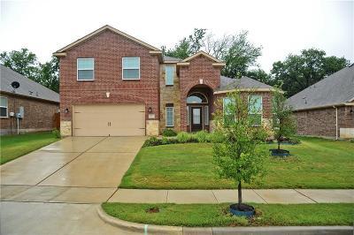Denton Single Family Home For Sale: 821 Summer Oaks Drive