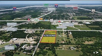 Denton Residential Lots & Land For Sale: 4807 Mills Road