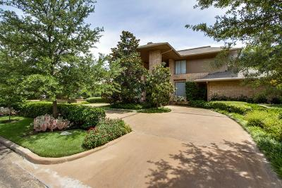Dallas Single Family Home For Sale: 17014 Club Hill Drive