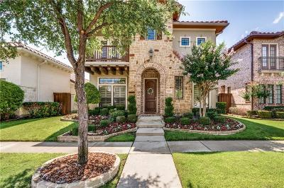 Dallas County, Denton County Single Family Home Active Contingent: 826 La Cima