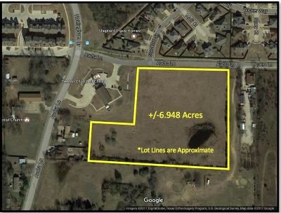 Denton Residential Lots & Land Active Option Contract: 1514 Audra Lane