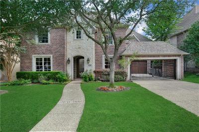 Dallas Single Family Home For Sale: 6700 Vanderbilt Avenue