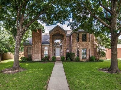 Allen Single Family Home Active Contingent: 816 Fall Drive