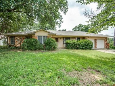 Denton Single Family Home For Sale: 2301 Highland Park Road