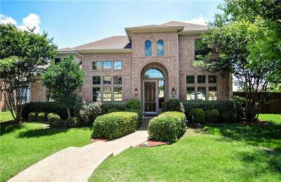 Plano Single Family Home Active Option Contract: 8000 Barrymoore Lane