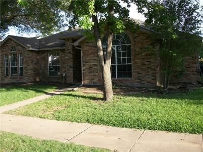 McKinney Single Family Home Active Option Contract: 4403 Monte Vista Lane