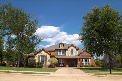 Rowlett Single Family Home Active Option Contract: 9906 Fairway Vista Drive