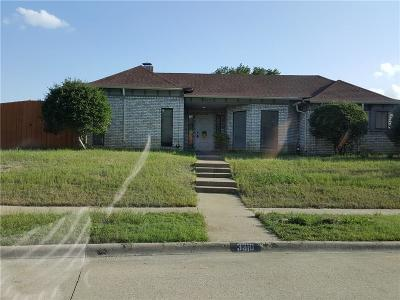 Garland Single Family Home Active Option Contract: 3310 Ridge Oak Drive
