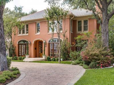 University Park Single Family Home For Sale: 3548 University Boulevard