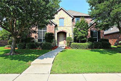 Frisco Single Family Home Active Option Contract: 11723 Estacado Drive