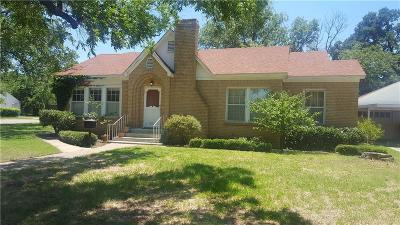 Graham Single Family Home For Sale: 816 Calaveras Street
