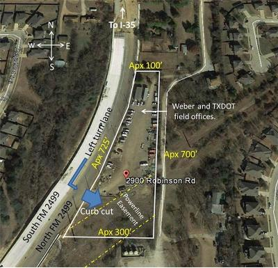 Denton Residential Lots & Land For Sale: 2900 Robinson Road