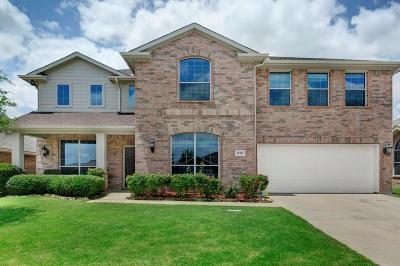 Justin Single Family Home For Sale: 215 Cedar Crest Drive