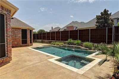Allen Single Family Home Active Contingent: 1507 Arizona Drive