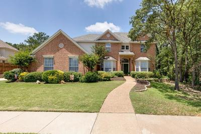 Southlake Single Family Home Active Contingent: 1400 Cambridge Crossing
