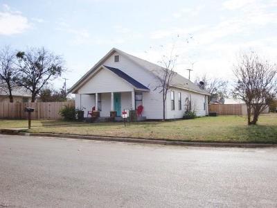 Graham Single Family Home For Sale: 1200 Blewett