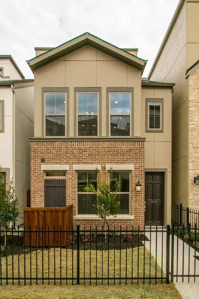 Dallas Townhouse For Sale: 5445 Beecher Street