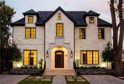University Park Single Family Home For Sale: 3317 Rankin Street