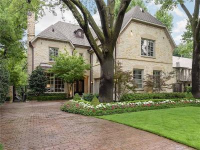 Dallas, Highland Park, University Park Single Family Home For Sale: 6809 Golf Drive
