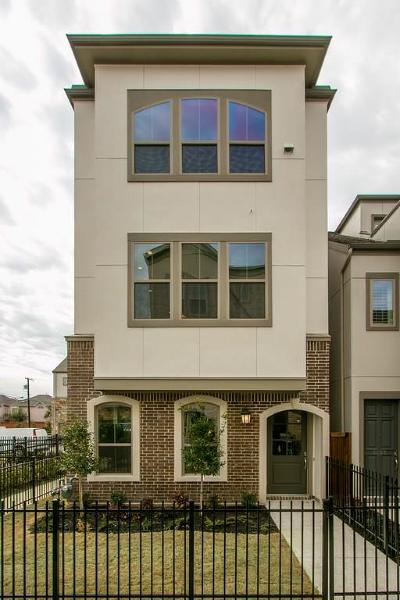 Dallas, Fort Worth Townhouse For Sale: 5420 Ashby Grove Street