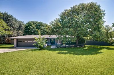 Fort Worth Single Family Home For Sale: 4451 Ridgevale Road