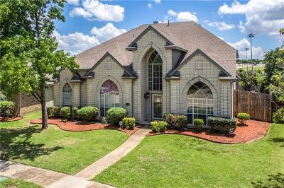 Carrollton Single Family Home Active Contingent: 1019 Creek Bend