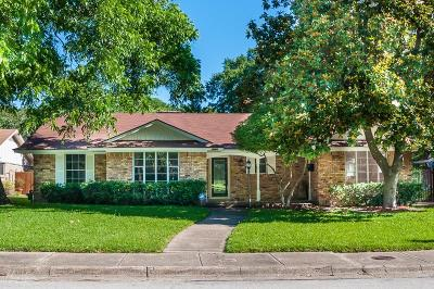 Dallas TX Single Family Home Active Option Contract: $244,900
