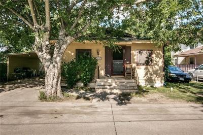 Waxahachie Single Family Home For Sale: 105 Burnett Street