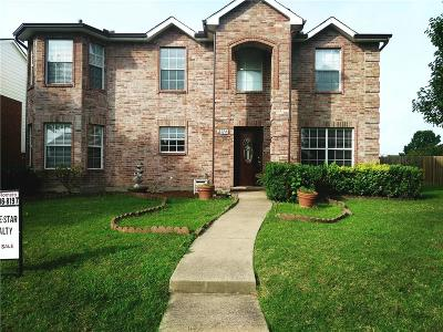 Sachse Single Family Home For Sale: 2714 Granite