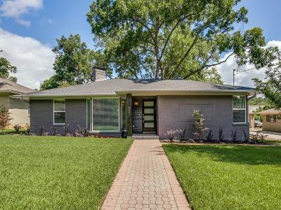 Dallas Single Family Home For Sale: 6641 Patrick Drive