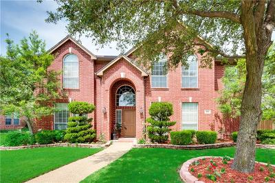 Allen Single Family Home Active Option Contract: 405 Heatherwood Drive